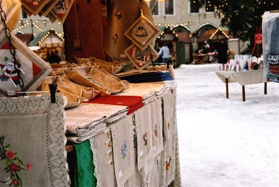 St. Petersbourg Hotel: shopping at the Christmas market