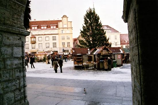 St. Petersbourg Hotel: A glimps of the Christmasmarket