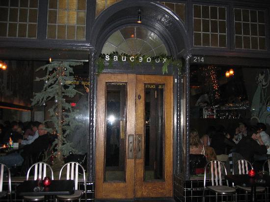 Saucebox Entrance