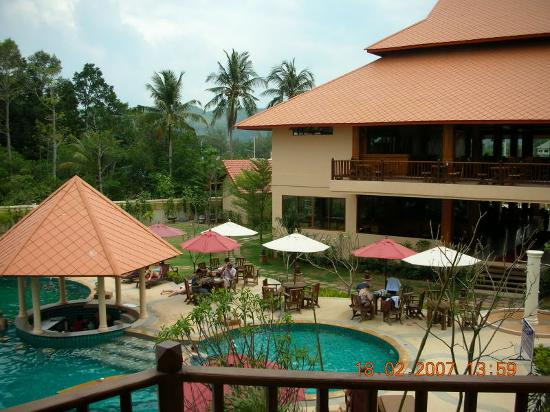 Andamanee Boutique Resort: Another view from balcony