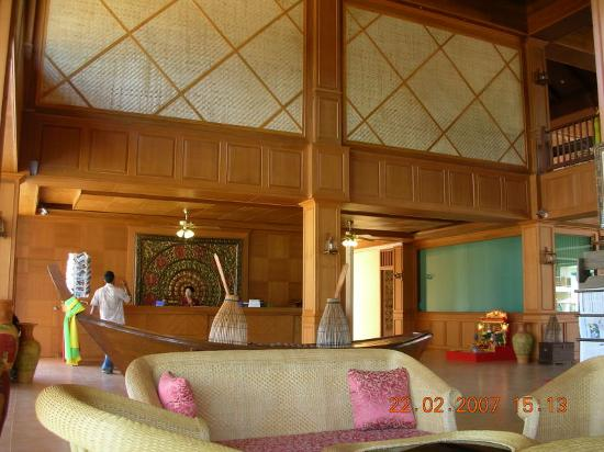 Andamanee Boutique Resort and Spa Krabi: Reception