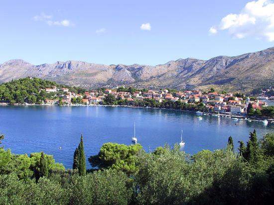 Цавтат, Хорватия: Cavtat from Hotel Croatia