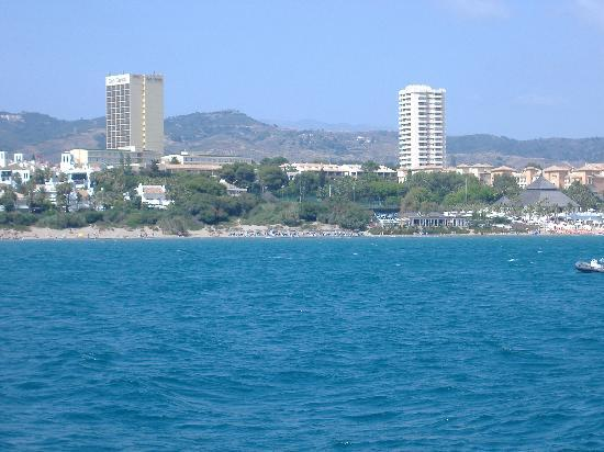 Marbella, Spanien: the View from the Catamaran