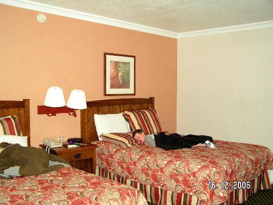Park Vue Inn: upstairs standard room