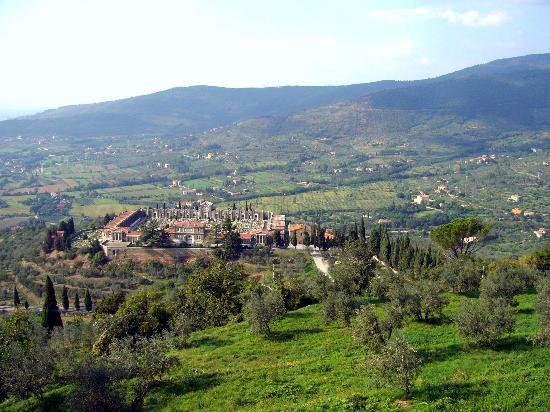 Cortona, إيطاليا: Cortona landscape