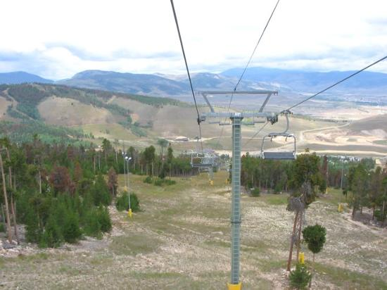 The Mountainside at Silver Creek: View From Solvista Ski Lift