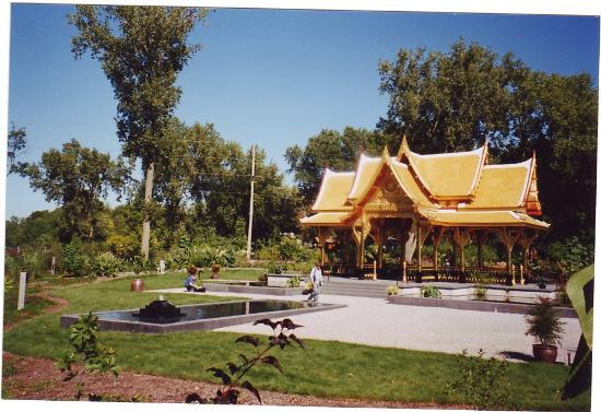 Madison, WI: Thai Pavilion and Gardens