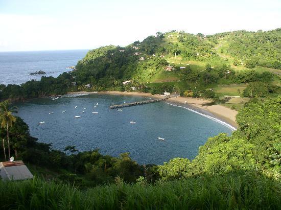 Tobago: palatauveir bay