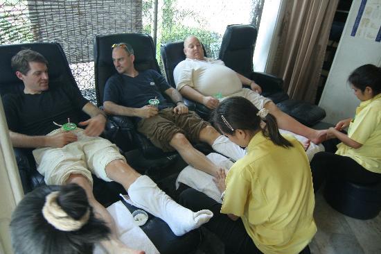 bangkok thai massage samlagsställningar bild