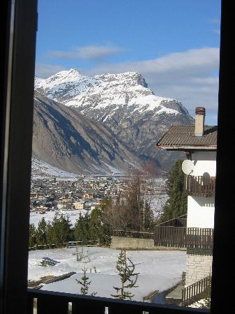 Residence Baita Cusini: View from our room into Livigno