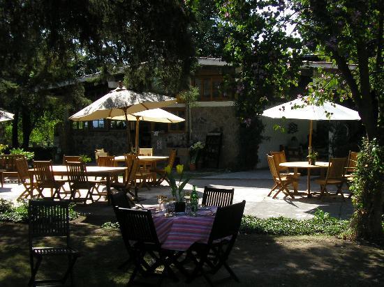Rancho San Cayetano: dining patio
