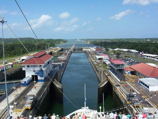 Panama City, Panama: Gatun Locks
