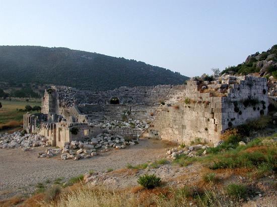 Patara, Turkiet: theater