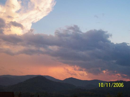 Pigeon Forge, TN: another view from the deck