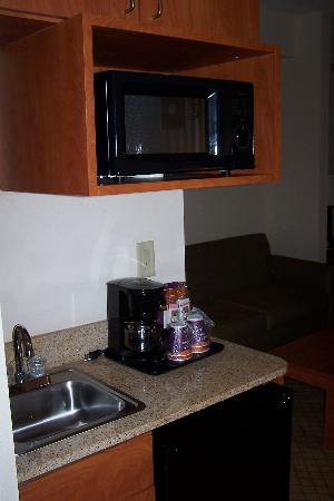 Holiday Inn Express Hotel & Suites New Tampa I-75 Bruce B. Downs: Mini Kitchen