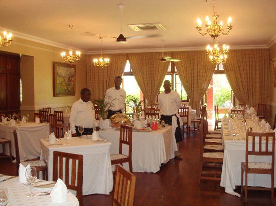 Kimberley Club: dinning room