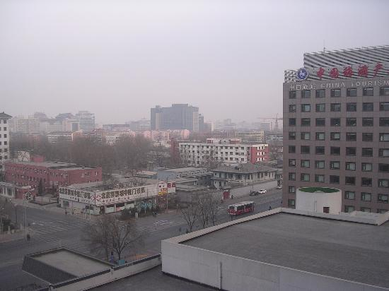 Beijing International Hotel: view from our room