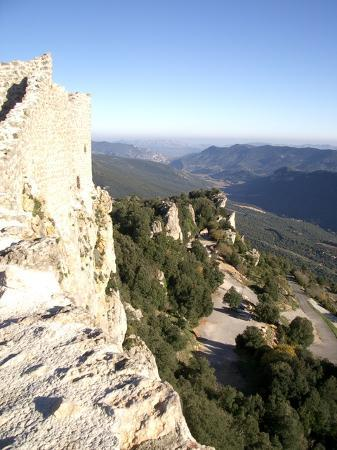 Duilhac-sous-Peyrepertuse, Frankrig: Views to die for