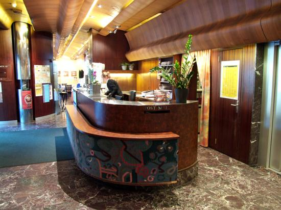 Hotel Walhalla : Reception area