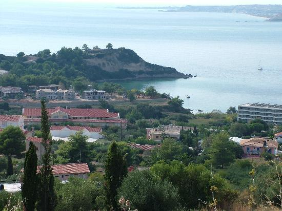 Λάσση, Ελλάδα: A view from the hillside overlooking the resort of Lassi