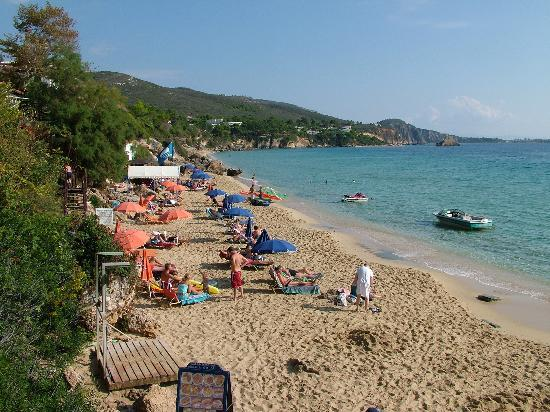 Ласси, Греция: One of Lassi's two lovely sandy beaches