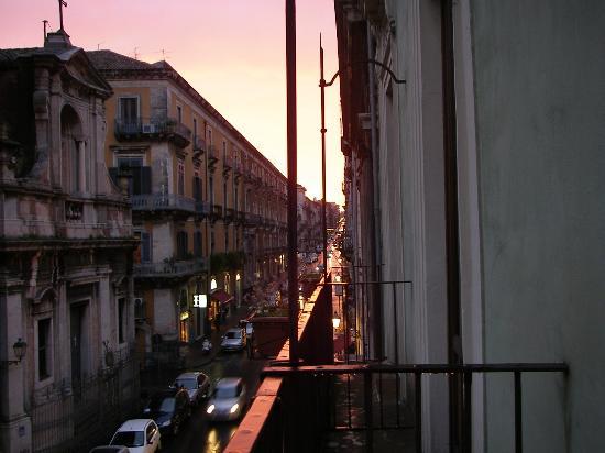 Hotel Savona: From room 203; C.so V Emmanuele II