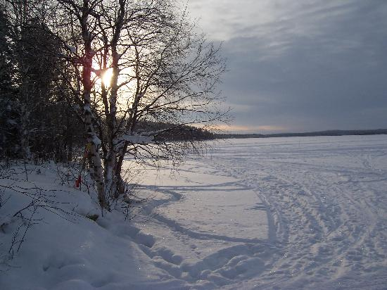 Hotel Jeris : The lake at Jeris