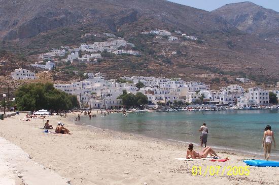 Amorgos, Grecia: Aegiali beach