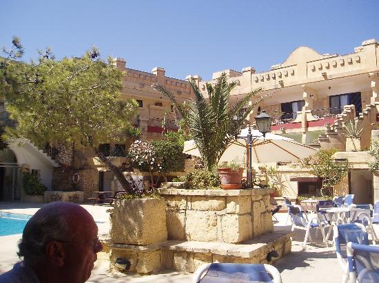 Cornucopia Hotel: From the garden of the hotel