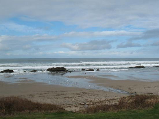 Lincoln City, Орегон: Beach View from room