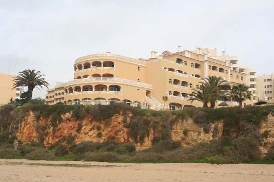 Hotel Oriental: Oriental from beach (far left is Hotel Casino)