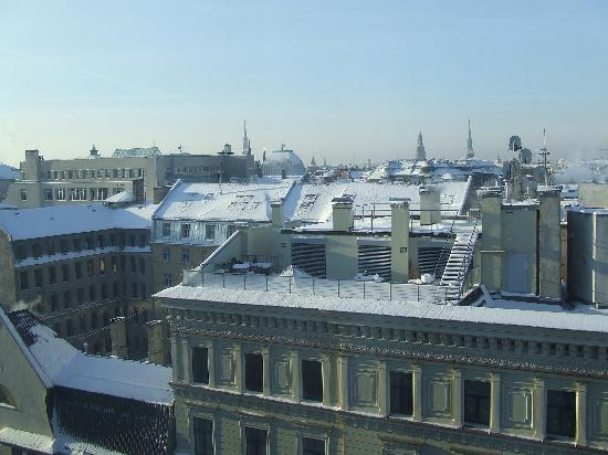 Отель Albert: View from our 9th floor room