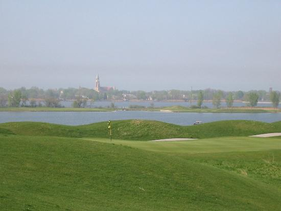 Hammond, Индиана: view of from the links course