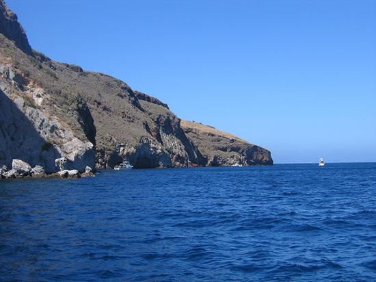 Catalina Island, CA: Sea Fan Grotto - great spot for beginners and all divers
