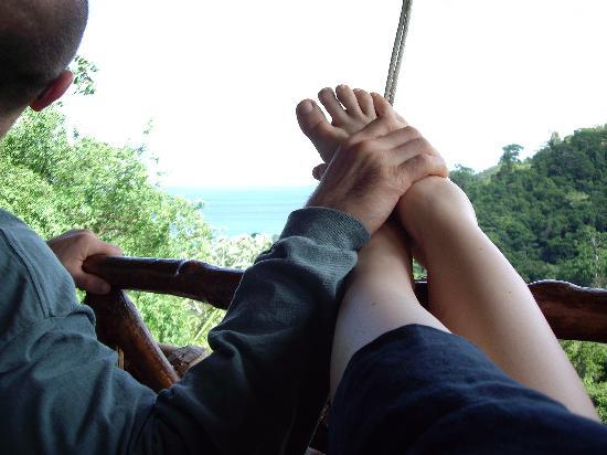 Lapa Rios Ecolodge Osa Peninsula: 10 minutes after arrival
