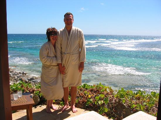 Peter Island Resort and Spa : Have the couples' Bohio massage at the spa.  Pure decadence!
