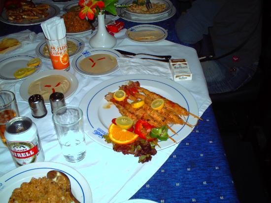 Tropicana Rosetta & Jasmine Club: bonne nourriture au vieux sharm el schek (restaurant Saaf Safa)