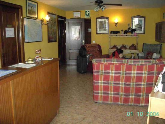 Hotel Arunda II: recepción