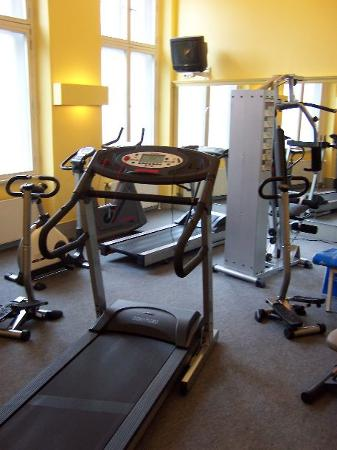 pentahotel Braunschweig: a nice amount of equipment in the gym
