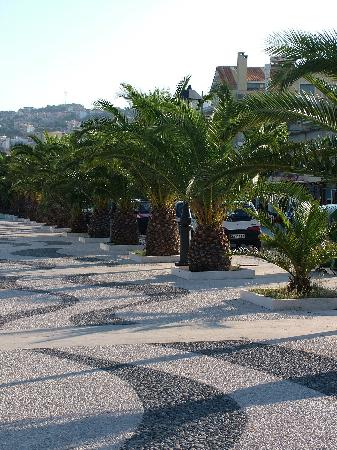 Cephalonia, Greece: The main walkway to the side of the harbour has recently been totally renovated in a mosaic...