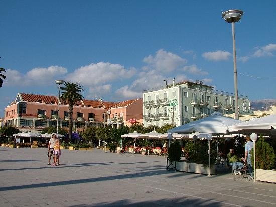 Cephalonia, Greece: The central town square