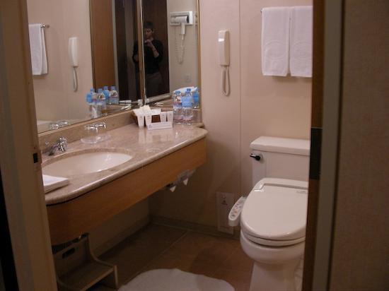 Hilton Tokyo Bay: Bathroom