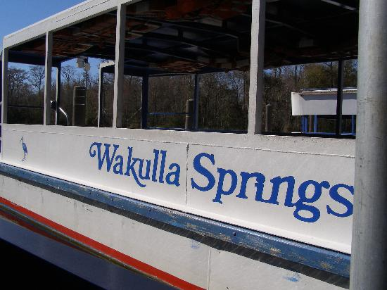 Edward Ball Wakulla Springs State Park: River tour boat