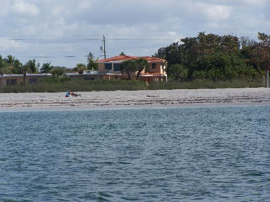 A Beach Retreat: View from the water of Beach Retreat