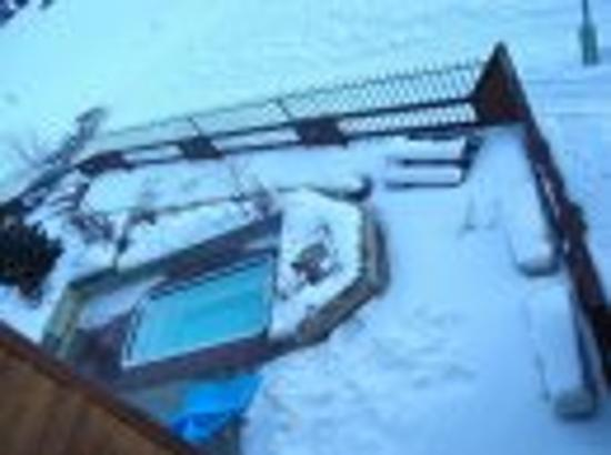 East Village at Copper: heated pool