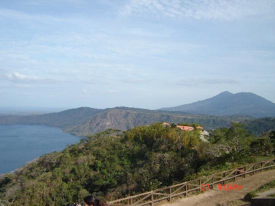 Casa Canada: Volcanic lake in Nicaragua, near Maysia
