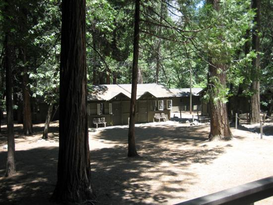 The Serenity Of Curry Village Cabins Picture Of Half