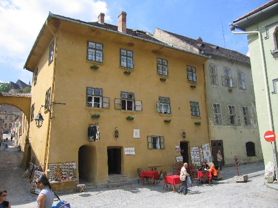 Sighisoara, Roemenië: The House of Vlad Dracul