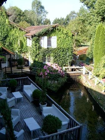 Le Moulin du Roc : a view from our room