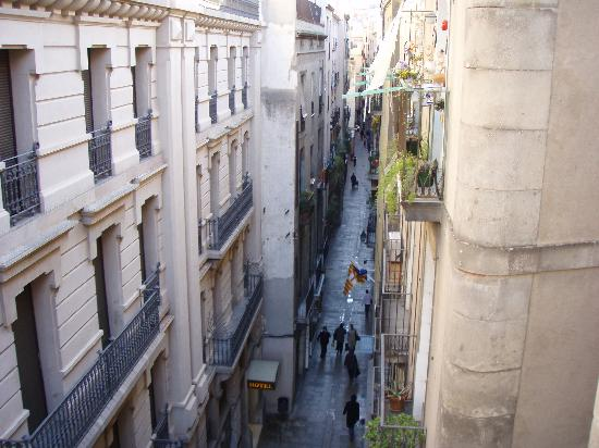 Pension Dali- : View along the street